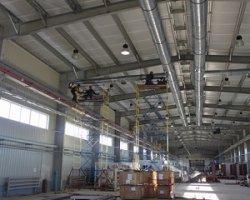 Вентиляция для промышленных предприятий